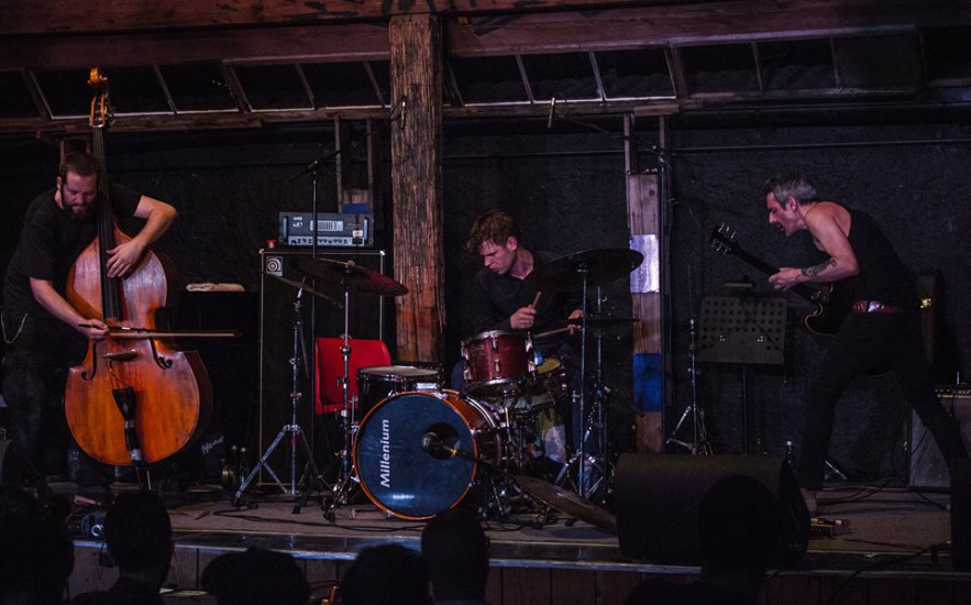 Lisbon Berlin Trio At Konfrontationen JazzGallery Fest, Nickelsdorf 2015