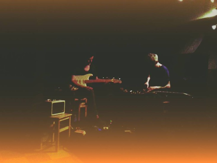 Duo With Julien Desprez At Desterro, LIsbon, October 2016