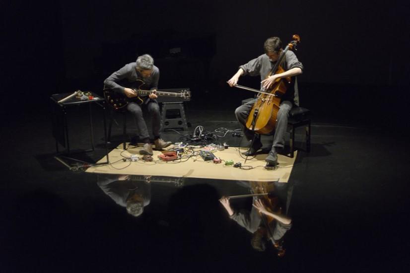 Duo With Fred Lonberg-Holm At O'Culto Da Ajuda, Lisbon, November 2016, Photo By Nuno Martins