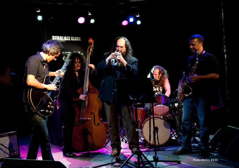 Humanization 4tet Feat. Dennis Gonzalez At Seixal Jazz 2009. Photo By Rosa Reis