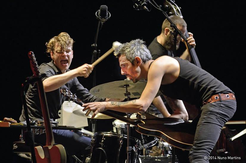 Lisbon Berlin Trio, Jazz Em Agosto Fest, Gulbenkian Foundation 2014, Lisbon, Photo By Nuno Martins