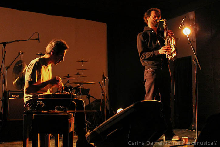 Lopes-Guionnet At ZDB, 2014, Photo By Carina Daniel, Jornal HardMusica