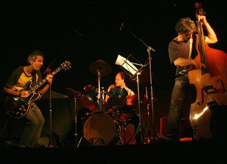 With Adam Lane, Igal Foni, Sines Jazz Fest. Photo By Cristina Cortez